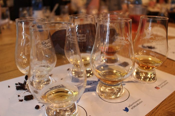 Whisky and Chocolate Pairing at Spirit of Yorkshire Distillery
