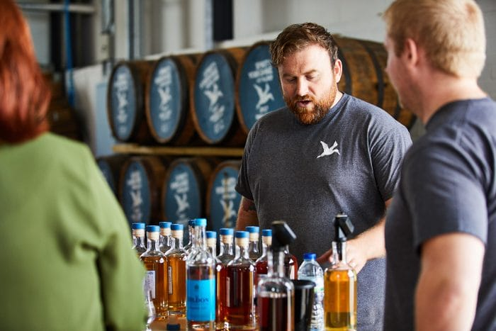 Guided tastings by distiller Dom