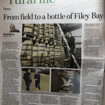 Tom and David, co-founders of the Spirit of Yorkshire Distillery, talk to the Yorkshire Post about the distillerys field to bottle process