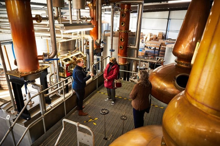 Socially distanced tours at the Spirit of Yorkshire Distillery