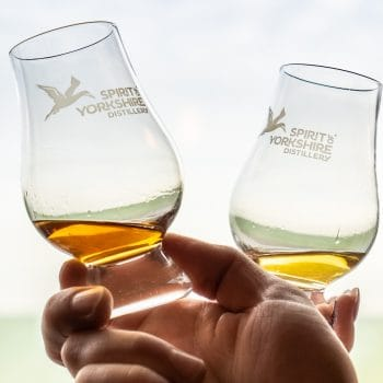 Glass of Yorkshire Whisky