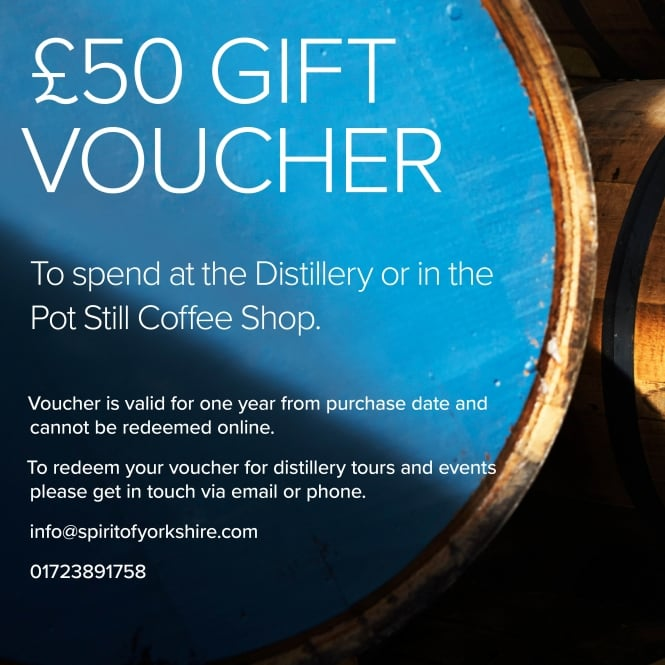 Spirit of Yorkshire E-Voucher £50