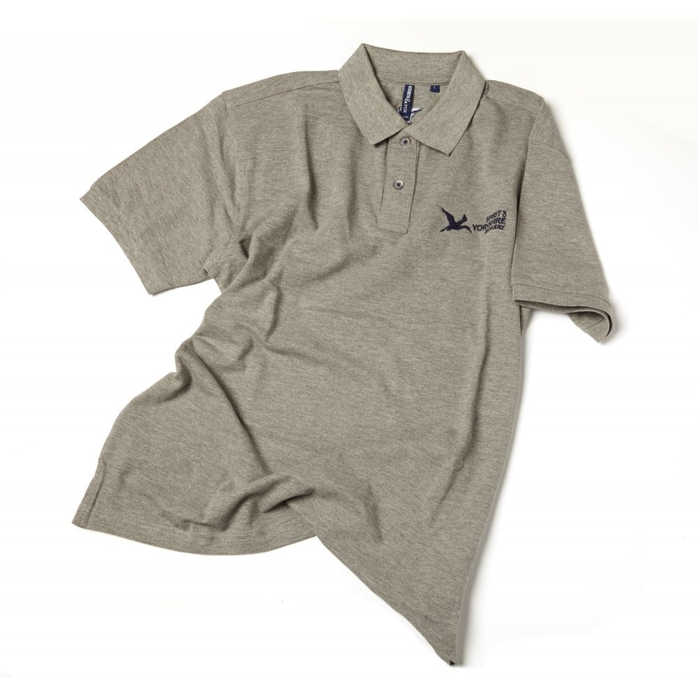Spirit Of Yorkshire Grey Polo Shirt Womens Shop From The Spirit